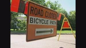 Bike route barricades could make their return