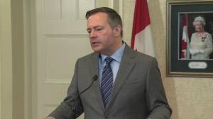 Premier-designate Jason Kenney hopes for civility after division Alberta election campaign (00:50)