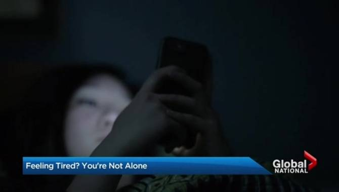 Are you tired?  you're not alone.