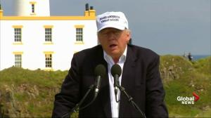 Trump on 'Brexit': 'It's the will of the people, you have to embrace it'