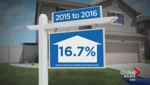 Central Okanagan housing market booming (01:59)