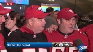 Checking in with the Grey Cup festivities in Edmonton