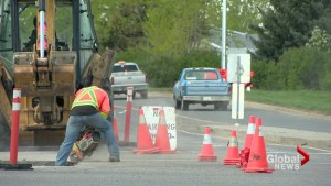 City of Lethbridge halts construction on major road project
