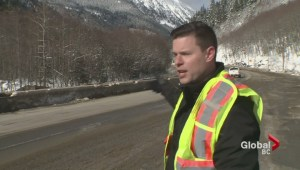 Trucker rescued after crash on Coquihalla Highway