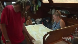 Montreal family prepares for year-long sailing trip to the Caribbean