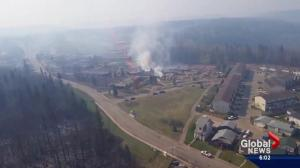 Cooler temperatures slow the spread of the Fort McMurray wildfire