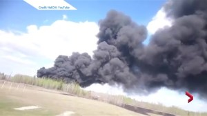 Massive trestle fire in Mayerthorpe forces evacuation of school, mobile home park