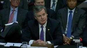 FBI director talks about how bureau employees deal with accusations of bias from Trump, others