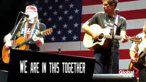 Midterm Elections: Beto O'Rourke performs with Willie Nelson in campaign ad