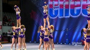 Thousands flock to Halifax for the largest cheerleading competition in Atlantic Canada