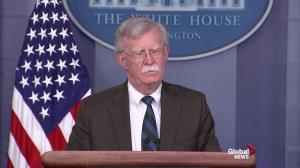 Bolton laughs off question over Jamal Khashoggi tape: Am I here to speak Arabic?