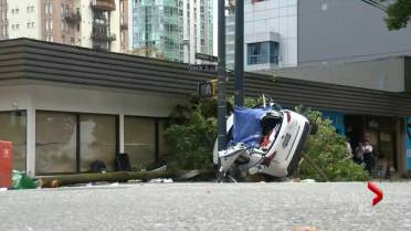 Granville Bridge 'problematic for speed' says VPD after