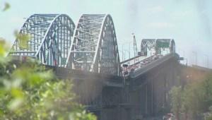 Mercier Bridge work begins