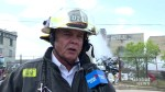 WFPS District Fire chief describes fire at Winnipeg metal yard