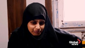 U.K. ISIS bride who had baby in Syria left 'for sake of children'