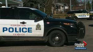 Heavy police presence in north Edmonton