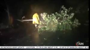 Hurricane Irma makes first landfall in Caribbean