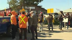 Sheet metal workers enter third day of rotating strikes.