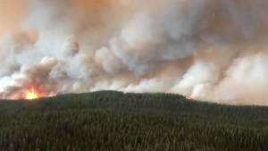 Wildfires continue to rage in Western BC
