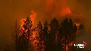 California wildfire forces more evacuations as blaze continues to move