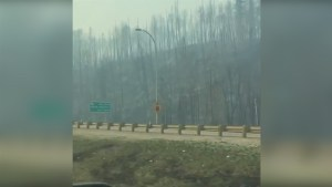 Evacuee driving through Fort McMurray captures images of scorched earth