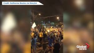 Military cheered by supporters of Brazil's president-elect