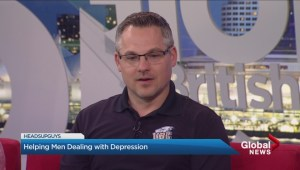 """Helping Men Dealing with Depression"""