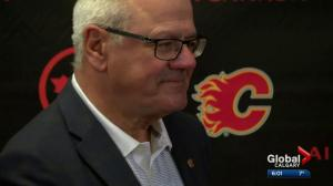 Calgary mayor reveals arena proposal, Flames ownership isn't interested
