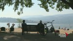 A smoke-filled Okanagan Valley causing health concerns among many residents.