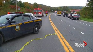 'Anybody driving through here could have got involved in that': Bystanders react to limo crash that killed 20