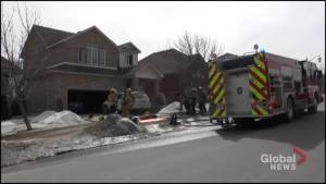 House fire on Carriage Lane in Peterborough