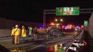 Four killed in fatal Châteauguay crash (01:30)