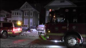 Cooking fire sends one to hospital in Peterborough
