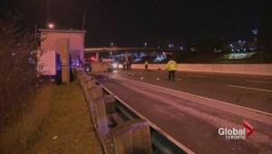 Woman, 25, killed in Gardiner Expressway crash