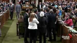 Turning point for Liberals after Trudeau gets physical with MPs?