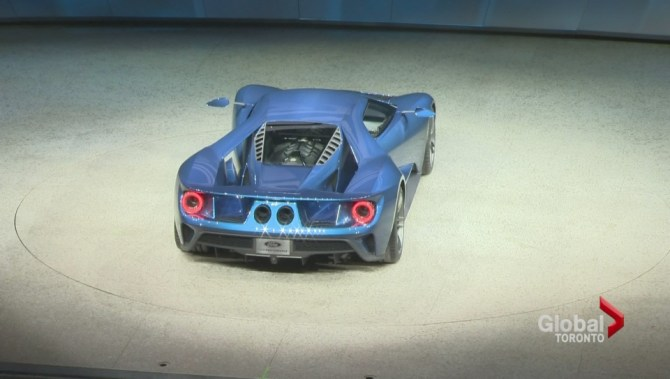 Watch Above Global News Consumer Reporter Sean Oshea Was At The  North American International Auto Show When The Ford Gt Was Revealed