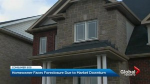 Real estate price drop threatens home ownership