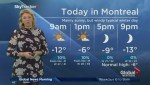 Global News Morning weather forecast: Wednesday, January 24