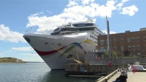 Cruise passengers upset after trip to Bermuda redirected to Atlantic Canada
