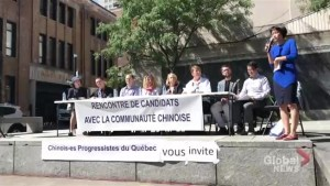 Candidates' debate addresses concerns of Montreal Chinese community