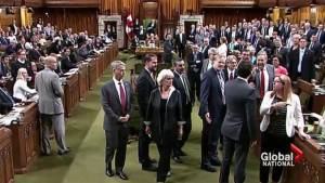 What led up to the ruckus in the House of Commons