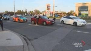 2 in custody after Toronto-area police pursuit