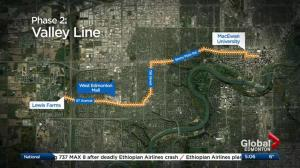 Government funding confirmed for 2 Edmonton LRT expansions