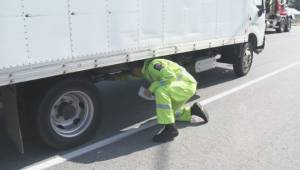Troubling results during truck inspection blitz