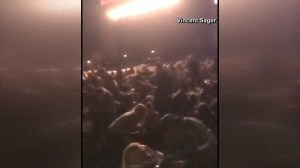 Dramatic cell phone footage shows moment of Las Vegas shooting, chaos