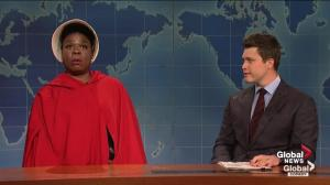 SNL's Leslie Jones goes full 'Handmaid's Tale' on Alabama abortion law