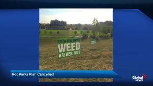 City shelves plans to allow cannabis use in Bridgeland park