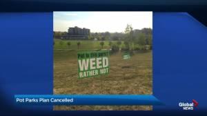 City shelves plans to allow cannabis use in Bridgeland park