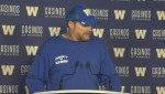 RAW: Blue Bombers Mike O'Shea Media Briefing – Sept. 26