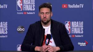 NBA Finals: Thompson says Durant's injury inspired team to play harder